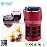 New portable ozone generator home air purifier,mold mildew odor remover,car fresh air purifier
