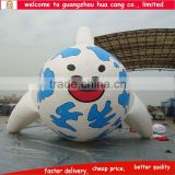 Advertising inflatable sasquatch cartoon, inflatable fish model, inflatable cartoon fish
