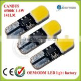 Most popular in EU&US market canbus led w5w car lamp bulbs DC 9V-30V make-up mirror light