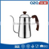 Americano long coffee dripper/700ml stainless steel pour over kettle/Amazon hot sell coffee pot