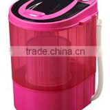 4KGsandie CE CB certificate compact single tub top loading portable mini washing machine/washer machine/wash machine