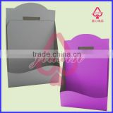 Different colour cardboard counter display/cosmetic counter display/cardboard pop display/wall hanging display