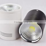 Factory supplier LED Downlights, high quality newest COB Downlight, recessed surface mounted led Downlight
