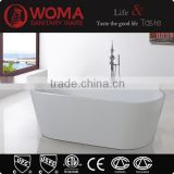 Q163 Whole Sale Home clear small acrylic folding portable bathtub