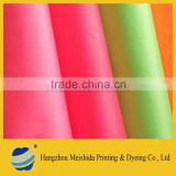 pigment dyed fluorescent cotton fabric twill, cotton poplin fabric                                                                         Quality Choice