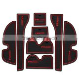 car accessories personalized rubber car mats for Toyota Prado 2010-2015 8pcs/set