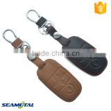 Car Leather Smart Remote Key Cover Case Protector Accessories For KIA Soul Cerato Optima K3 K5 Sportage Sorento
