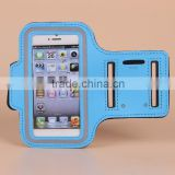 Mobile Phone bags and Cases / soft neoprene jogging sport armband outdoor activity running belt armband with key holder