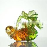 plutus pumpkin flower liuli colored glass crystal crafts wedding gift decoration