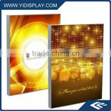 LED optical lens light box sign frame