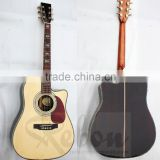 Weifang Rebon D45 cutaway body solid top acoustic guitar