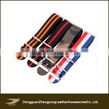 Wholesale Custom Colourful 27mm Fabric Nato Watch Straps