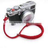 fashion fishtail weave rope camera wrist strap polyester paracord camera strap manufacturer