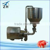 Hygienic cosmetic cream vacuum mixer with trolley