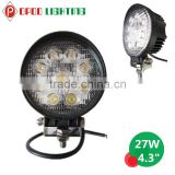 Wholesale Price Promotion Round 4x4 Truck 27W Led Work Light                                                                         Quality Choice