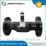 150lb flange type forged steel all welded ball valve