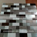 metal mosaic tile for kitchen backsplash/border
