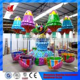 More than 10 years experience in branded amusement park happy jellyfish rides