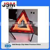 Safety Warning Triangle Reflector 17 Inch Emergency Road Flasher from china
