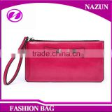 Latest Fashion Good Quality Lady Wallet With Zipper Coin Pocket Latest design ladies fashion red color PU wallet