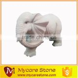 Outdoor Elephant Display life size elephant stone statues