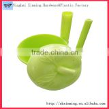 Plastic Apple Shape Saver, Apple Fresh Box, Apple Container