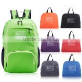 exquisite portable sports backpack with shoe compartment