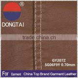 2015 soft pu clothing leather fabric Factory direct sale
