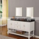 "60"" Double Sink Pearl White Traditional Bathroom Vanity/Bathroom Furniture/Bathroom Cabinet LN-T1176"