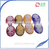 wholesale holes loose resin cameo pendant