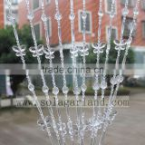 Beauty Decorative String Curtain Strand Acrylic Crystal Beaded Curtain Wedding DIY Party Decor