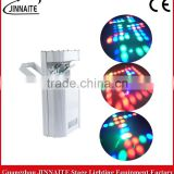 High quality Bar DOUBLE Mirror Scanner LED Scanning stage Light with white and black color