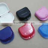 The adjustable treatment handle, teeth whitening mouth tray cases, teeth whitening case, mouthguard case, retainer case box