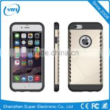 Mobile phone case for iphone 6 plus, two in one Armour phone cover for iphone 6 plus