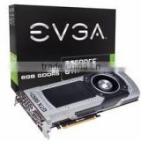 EVGA GeForce GTX Titan Z Superclocked 12GB Graphics Card w- G-Sync Support - SLI, DVI, HDMI, DP