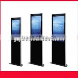 "32"" wholesale 2 pcs/lot kiosk advertising display stand jewelry display LED LCD display for advertising with Android system"