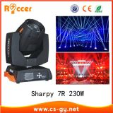 ON SALE! Stage lighting 16 Channels Dmx512 Control beam 230W Moving Head lamp 7R 230W sharpy