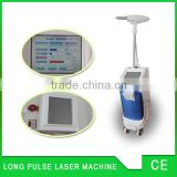 Pigmented Lesions Treatment 2016 CE Nd Yag Telangiectasis Treatment L;aser Long Pulse Painfree Laser Hair Removal Machine