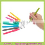 Factory sale 9 Pcs Color Coded Crochet Hook Set with plastic case