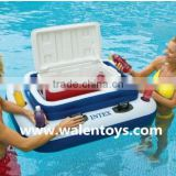 Intex Inflatable Pool Cooler Floating Party Float Drink Ice Bar Holder Beer