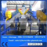 Waste car battery recycling machine