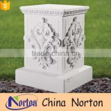 modern architectural decoration square pedestals basin NTMF-PE014Y