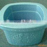 Environment friendly EPP material light weight square foot spa pots