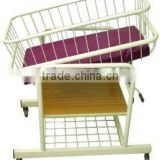 Hospital Type Baby Cot with Tiltable Basket