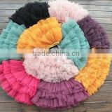 2015 newest persnickety summer organic tailored cheerleader skirt girls boutique remakes colorful tutu skirt