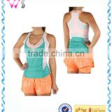 Womens Two Colors Combination Softball Suit