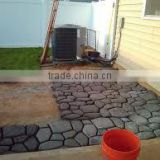 2016 Hot Sale Stamping Pavement Mould / DIY Garden Tools-paver mold for garden path / Patio walkway mould /
