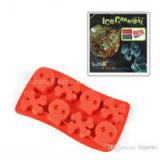 Skull Fashion Ice Cube Tray With FDA LFGB