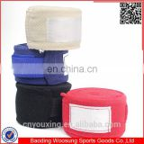 Colorful cotton boxing bandage design your own mma hand wraps