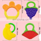 Baby Teether Fruit Shape Silicone
